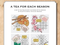 Blackwork and Cross Stitch Designs: A Tea for Each Season