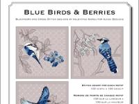 Blue Birds & Berries