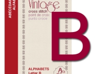 Vintage Cross Stitch Alphabets – Letter B