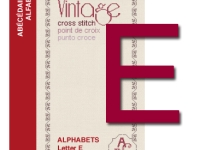 Vintage Cross Stitch Alphabets – Letter E