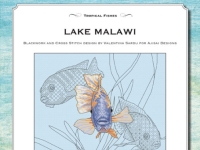 Cross Stitch and Blackwork Design: Lake Malawi