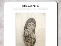 Blackwork Doll: Melanie