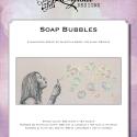 Blackwork Design: Soap Bubbles