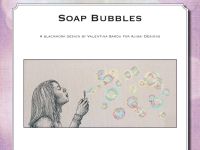 Blackwork Design: Soap Bubbles