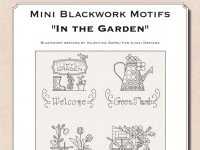 Mini Blackwork Motifs: In the Garden