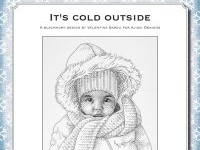 Blackwork Design: It's cold outside