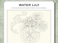 Blackwork Design: Water Lily