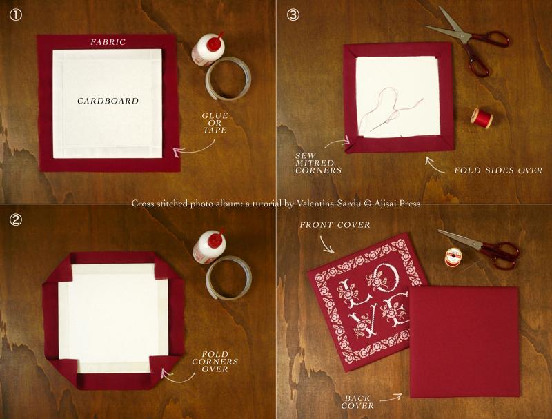 cross stitched photo album - 4