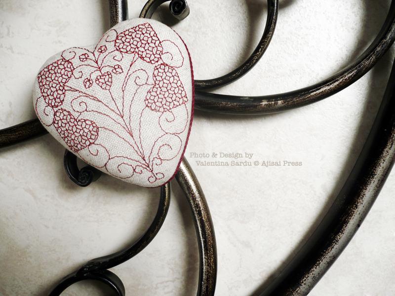 heart-shaped blackwork box - 4