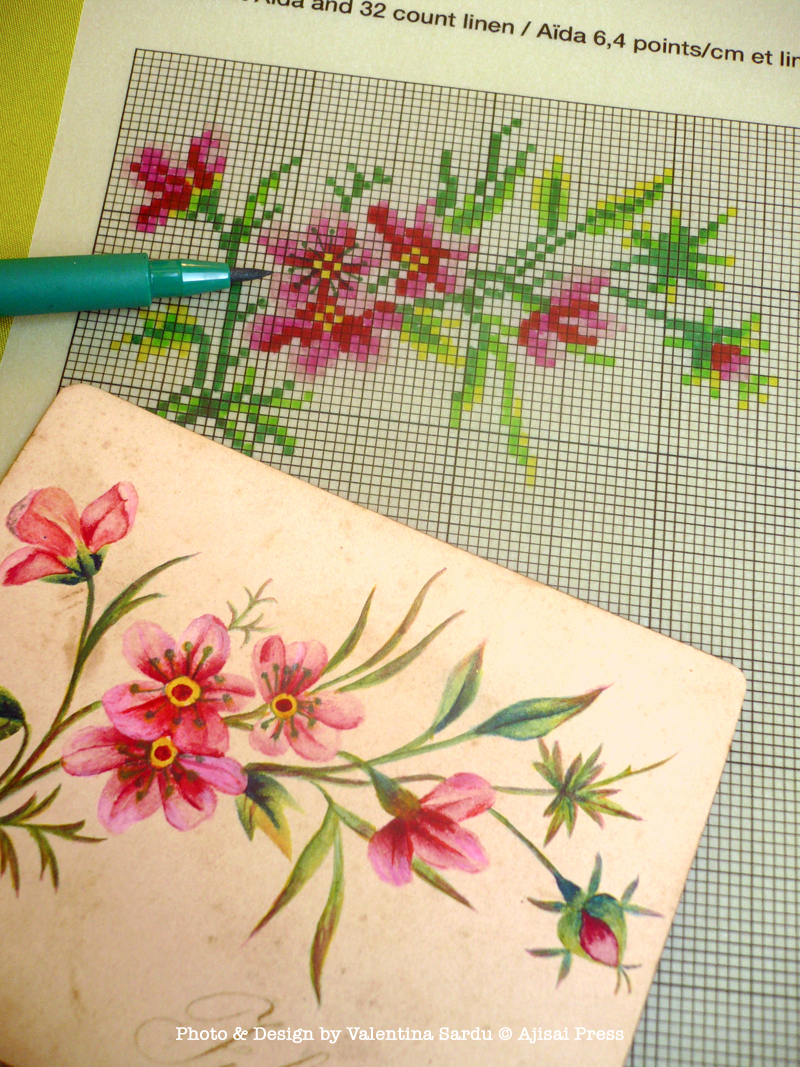 How To Design Your Own Cross Stitch Pattern Ajisai Press