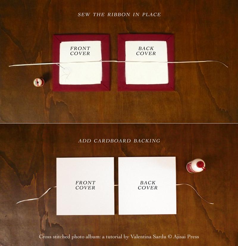 cross stitched photo album - 5