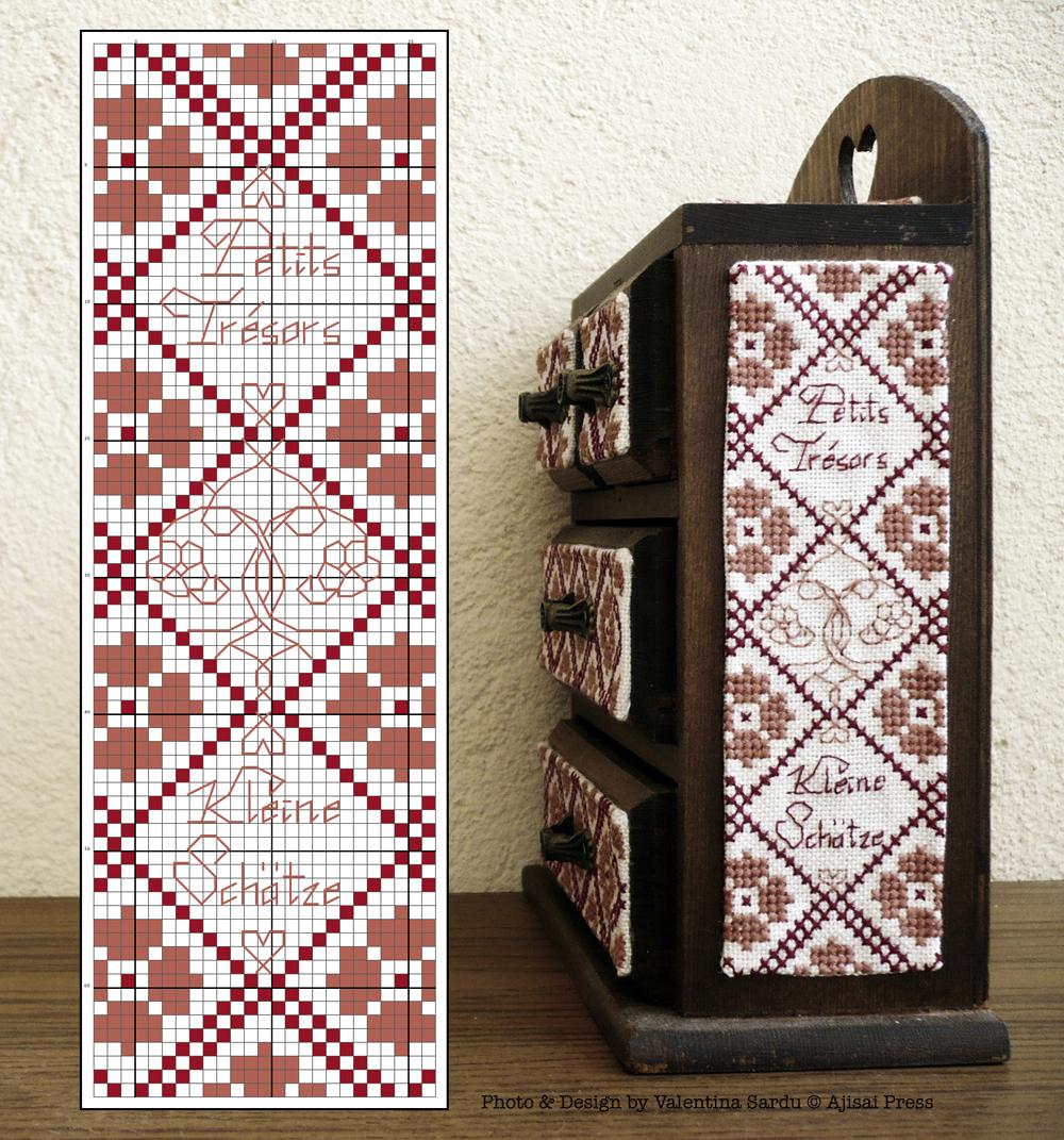 Jewelry box / cabinet - free chart 3