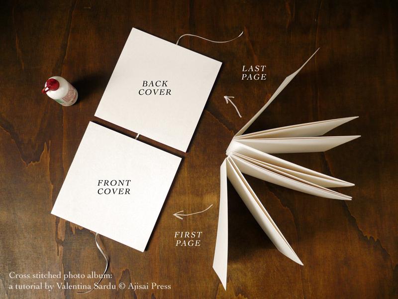cross stitched photo album - 8