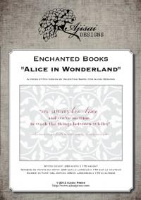ALICE IN WONDERLAND by ajisai designs