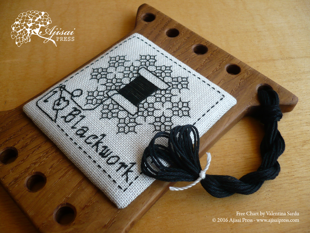 Blackwork thread keeper AjisaiPress