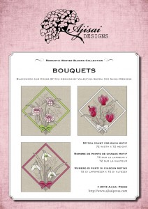 Cross Stitch and Blackwork Designs: Bouquets