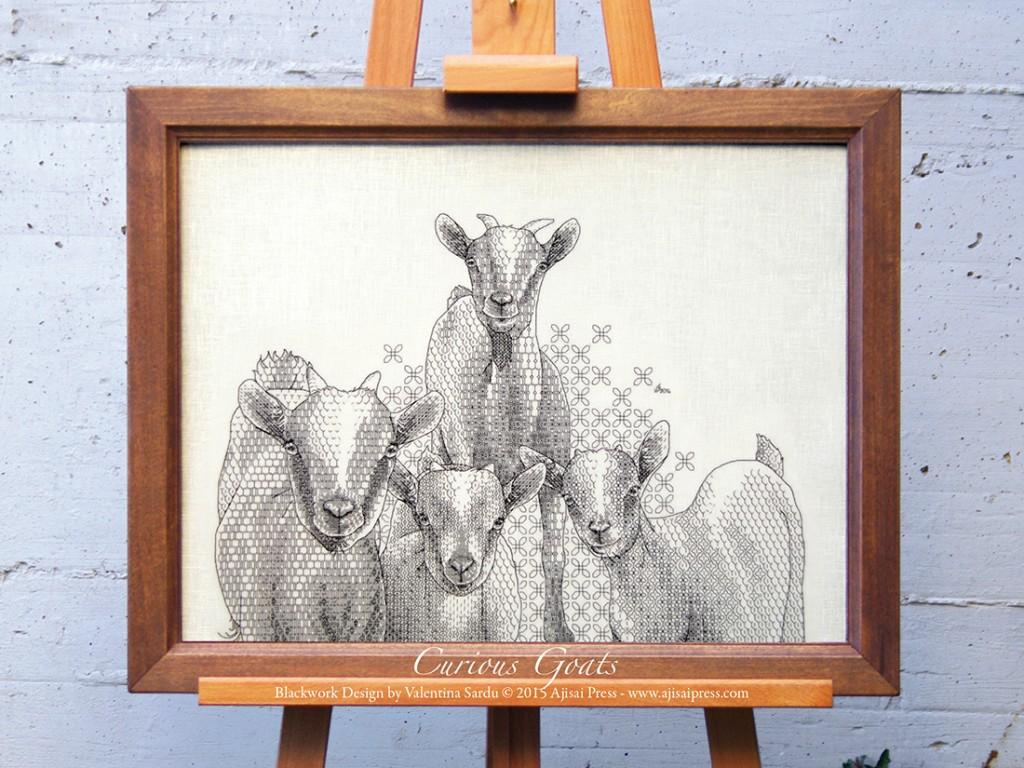 Curious Goats preview - Ajisai Press