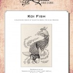 Blackwork Design: Koi Fish
