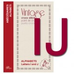 Vintage Cross Stitch Alphabets – Letters I and J