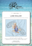Blackwork and Cross Stitch Design: Lake Malawi
