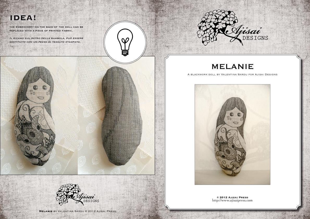 MELANIE doll by ajisai designs