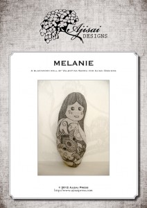 Blackwork Doll: Melanie