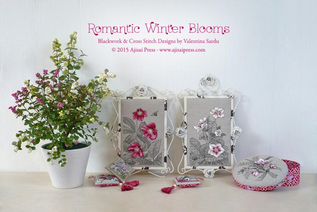 Romantic Winter Blooms - Ajisai Designs