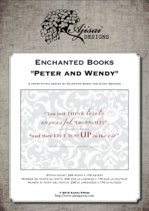 Cross Stitch Designs: Enchanted Books – Peter and Wendy