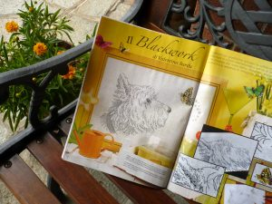 Dog with Butterfly – A brand new design for RicAmare magazine