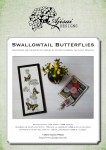 Cross Stitch and Blackwork Design: Swallowtail Butterflies