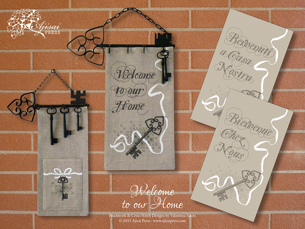 Welcome banners by Ajisai Press