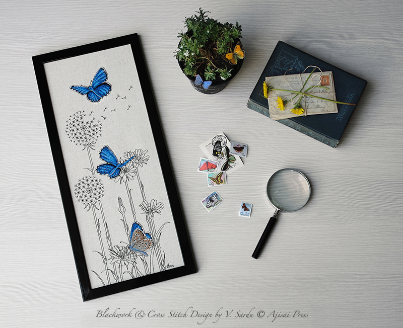 Adonis Blue Butterflies - Ajisai Press