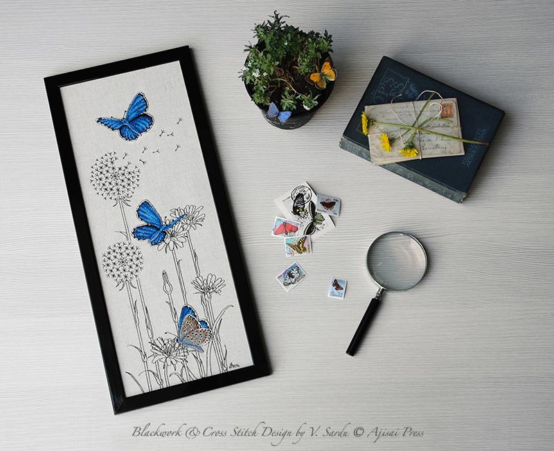 Adonis Blue Butterflies - Ajisai Press