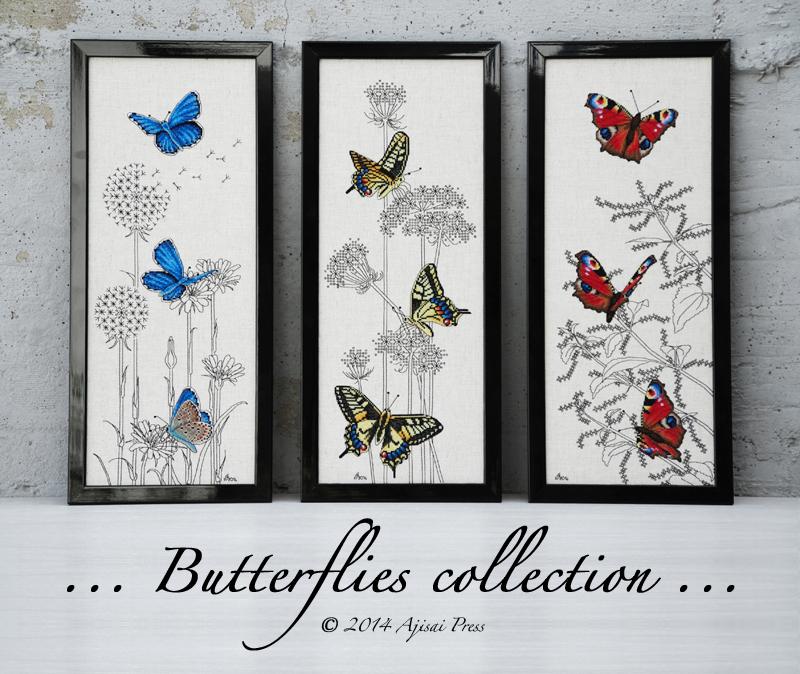 Butterflies Collection - Ajisai Press