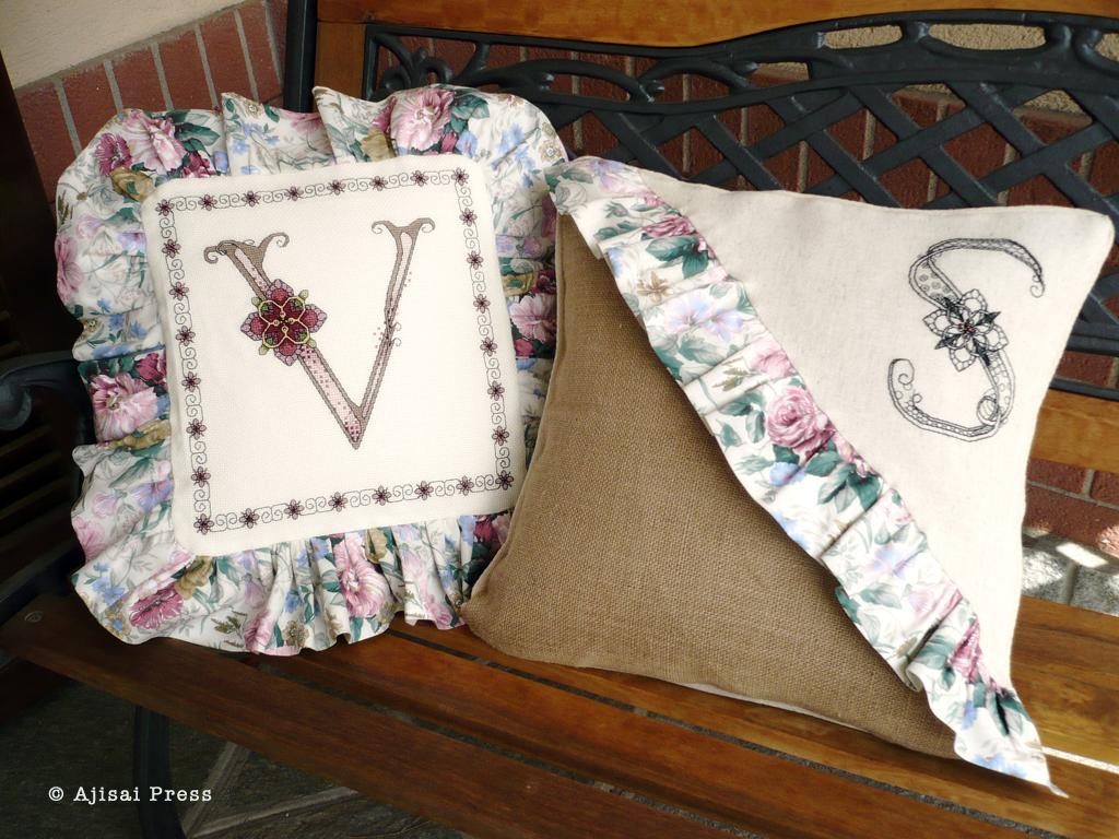 cuscini ajisai designs