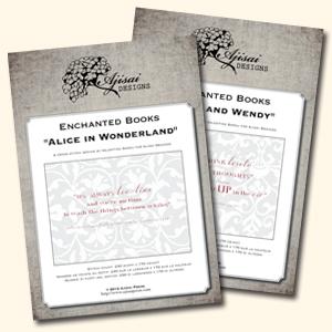 enchanted books ajisai designs