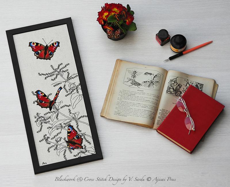Peacock Butterflies - Ajisai Press