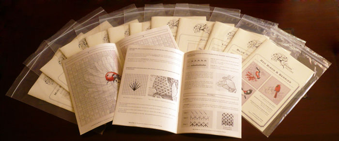 printed charts - Ajisai Designs