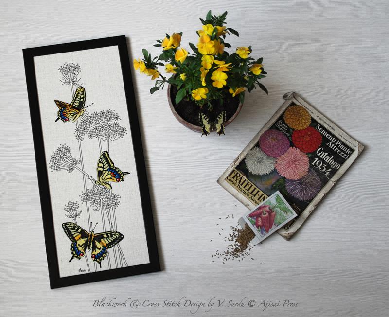 Swallowtail Butterflies - Ajisai Press