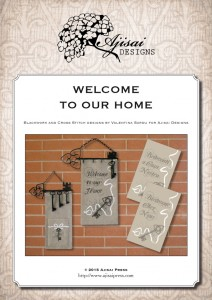 Cross Stitch and Blackwork Designs: Welcome to our Home