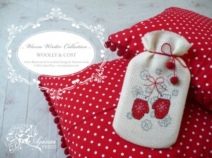 Woolly & Cosy: a free cross stitch pattern from the Warm Winter Collection